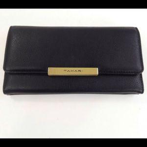 NEW Tahari Royal Flush Clutch Wallet RFID NWT